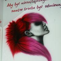 airbrush aerograf streetart salon  hairstylist barbershop wwa