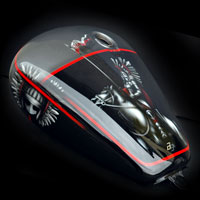 malowanie aerografem yamaha motocykl bak husaria polska