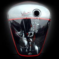 aerograf malowanie motocykli zbiornik malowanie polska
